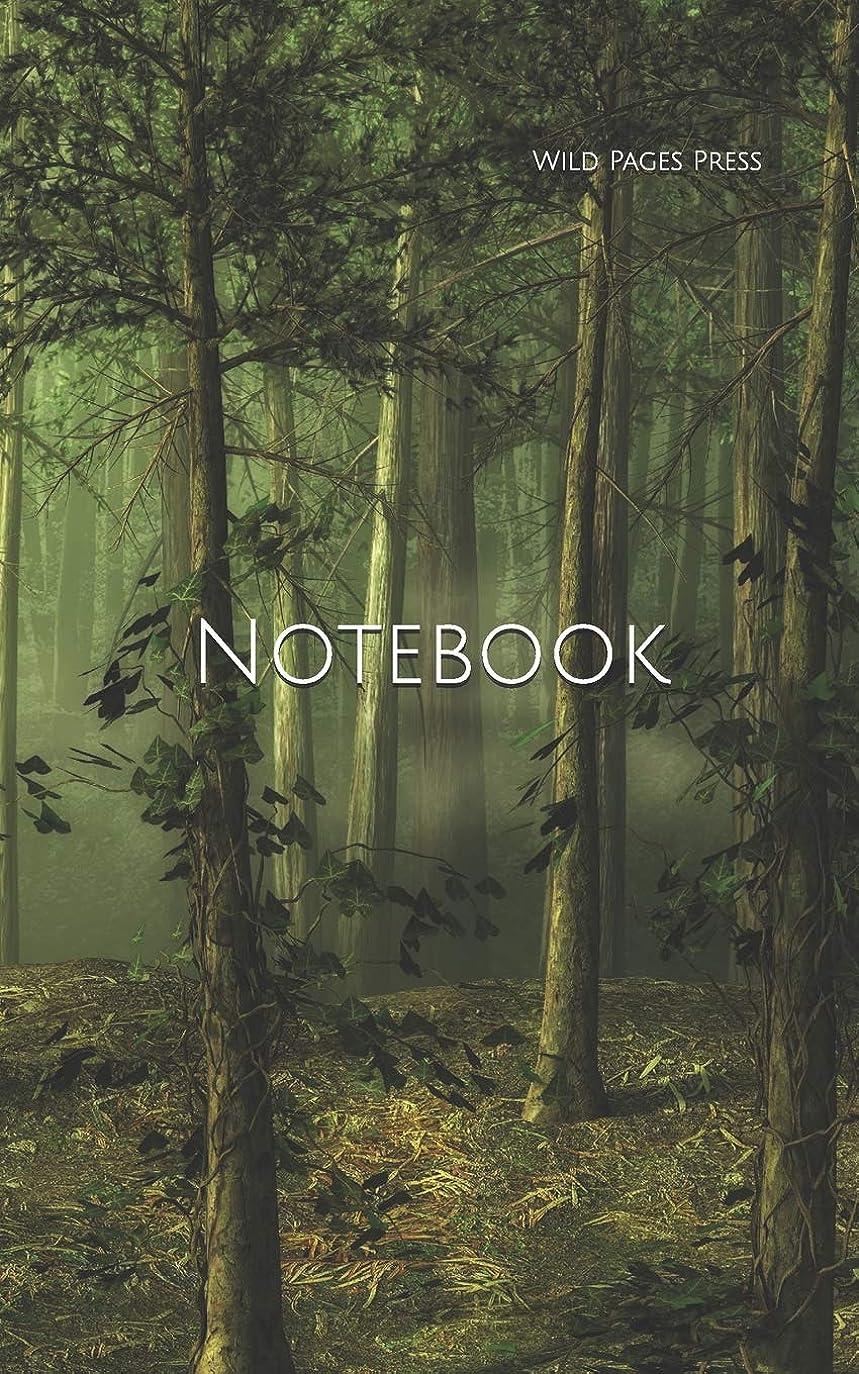 サーカスエスニックプレゼンNotebook: forest tree landscape fairy tale fantasy computer digital phone chord chords cable usb stick