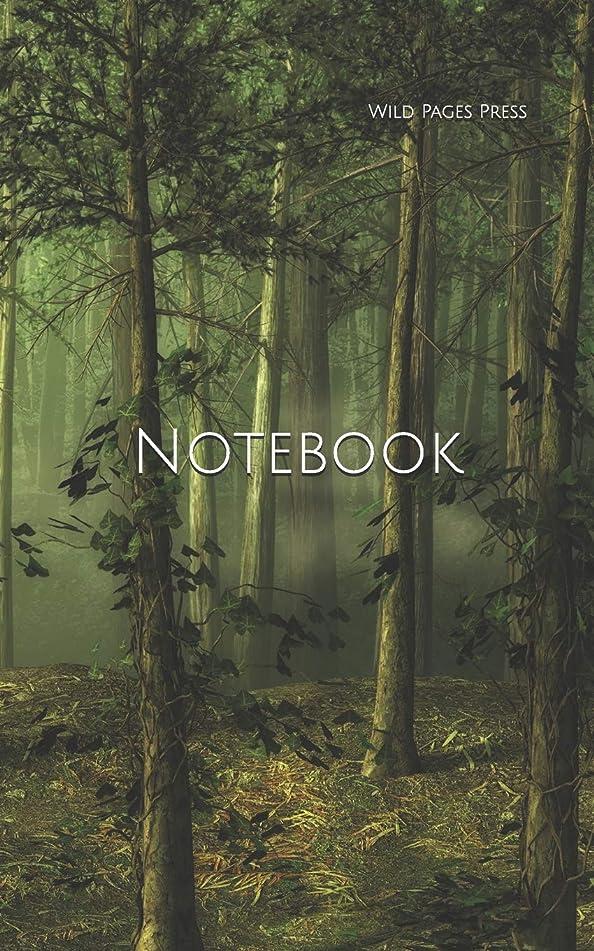 感心するデコードする蛇行Notebook: forest tree landscape fairy tale fantasy computer digital phone chord chords cable usb stick
