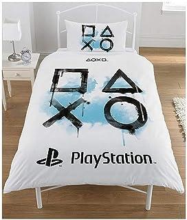 Sony Playstation - Juego de Funda nórdica, algodón polié