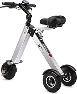 TopMate ES31Electric ScooterMini Tricycle| Key Switch3 Gears |Rear Axle Suspension |for Mobility Assistance and Travel