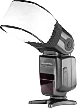 Neewer Pro Universal Soft Mini Flash Bounce Diffuser Cap for On Camera or Off Camera..