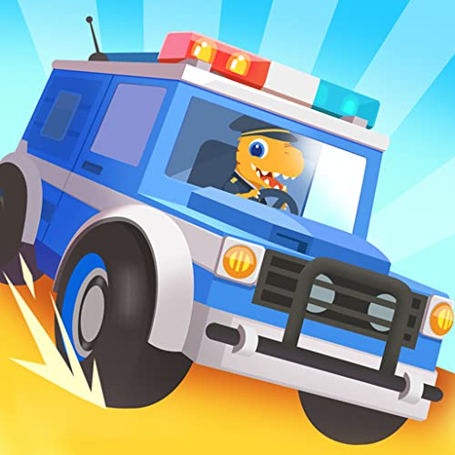 Dinosaur Police Car - Driving Games for kids
