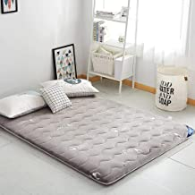 FF Tatami Japanese Futon Mattress Sleeping Pad - Colchón Plegable Enrollable Colchoneta de Dormitorio para Estudiantes Boy...