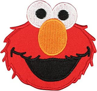 Sesame Street ELMO Patch Embroidered Cartoon Iron On Sew On Patches