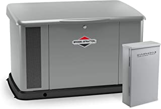 Briggs & Stratton 040637 20kW w/Aluminum Enclosure and 200 Amp Symphony II Switch Standby Generator, Gray
