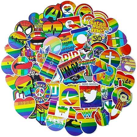 Stocking Stuffer for Mom Rainbow Sticker for Laptop Motivational sticker pack Rainbow sticker pack Rainbow decal tumbler Happy Rainbow