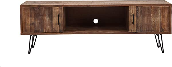 Belmont Home 60 Inch Natural Finish Media Stand