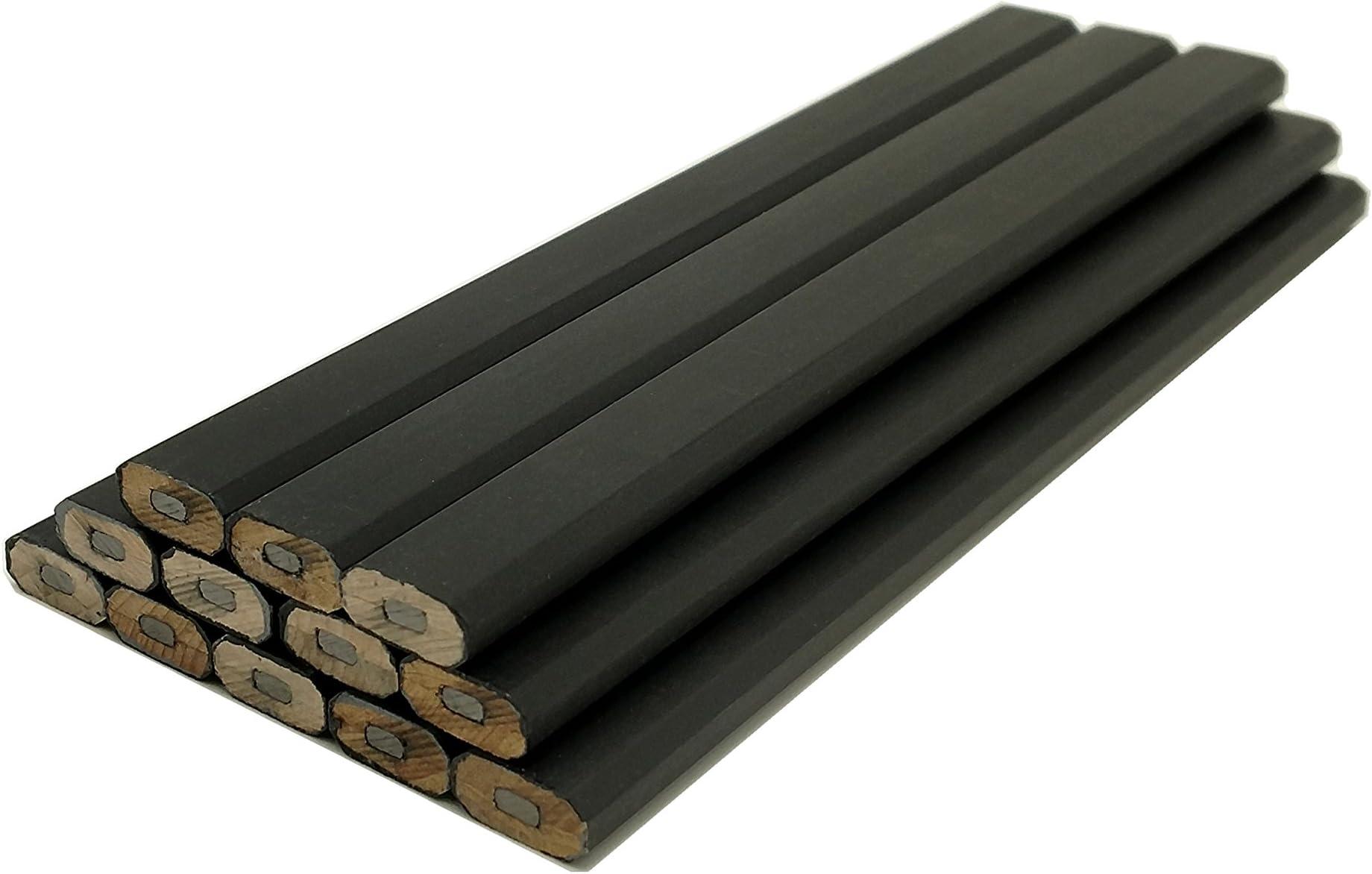 Impex Carpenter Pencils - 72pc Half Gross Set (Wholesale Bulk Lot of 72pcs)