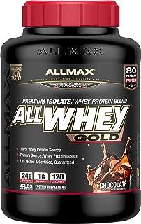ALLMAX Nutrition AllWhey Gold Whey Protein, Chocolate, 5 lbs