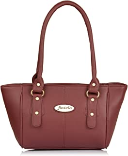 Fostelo Women's Croatia Handbag (Maroon)