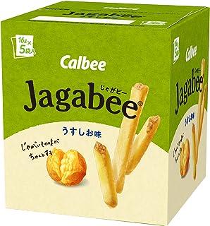 カルビー Jagabee うすしお味 80g ×12個