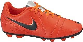 Nike New Boy's JR CTR360 Enganche III FG-R Soccer Cleats Crimson/Black 1.5