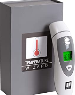 Temperature Wizard Forehead & Ear Thermometer For All Ages