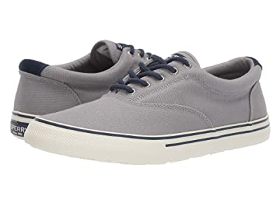 Sperry Striper II Storm CVO Duck Canvas (Grey) Men