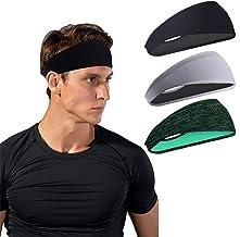 Sporthoofdbanden voor heren en dames - zweetband & sport hoofdband vochttransport workout zweetbanden voor hardlopen, cros...