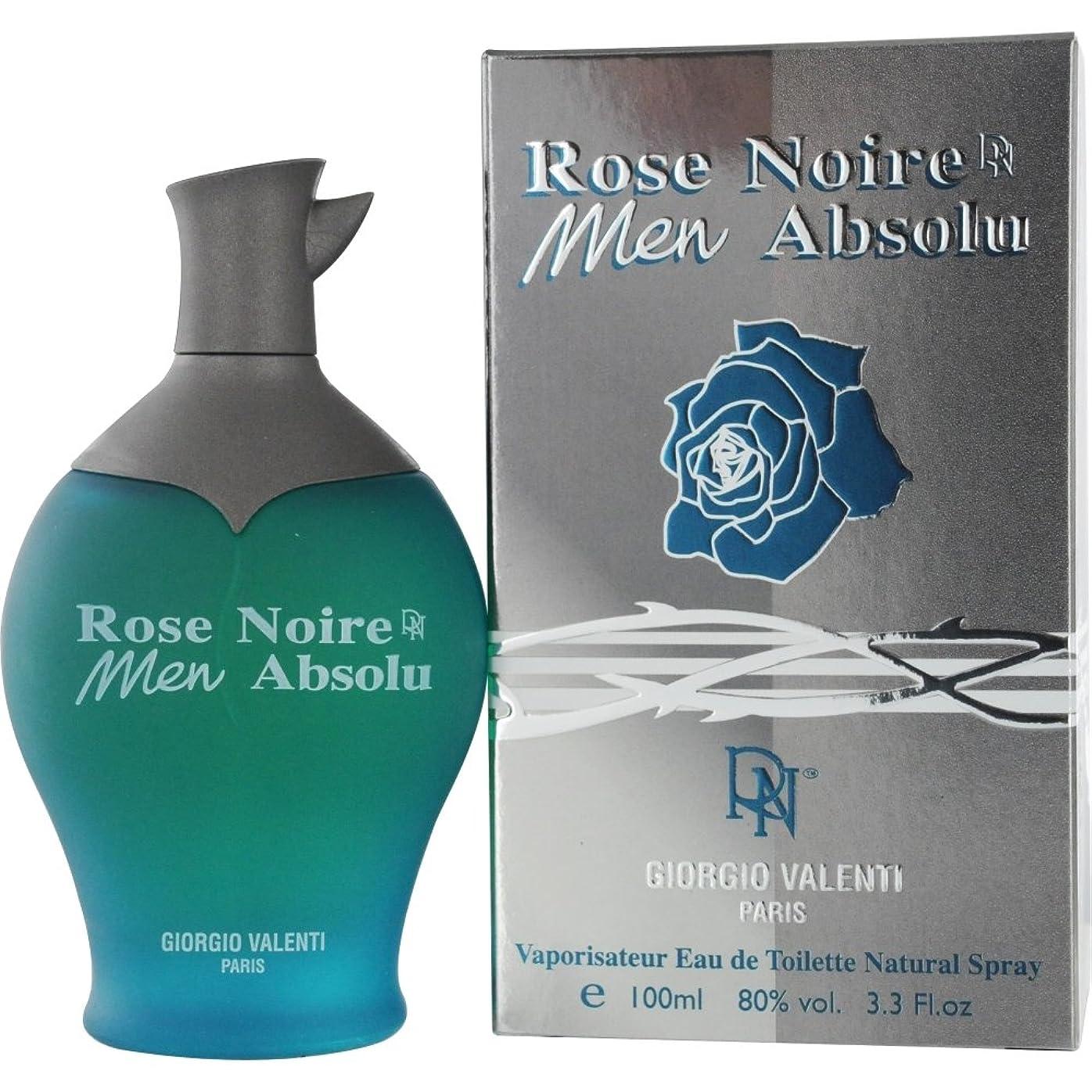 有用書士異常なジョルジョヴァレンティ Rose Noire Aboslue Eau De Toilette Spray 100ml [並行輸入品][海外直送品]