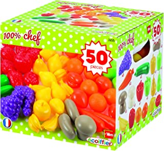 Ecoiffier Chef Fruits and Vegetables Pack - 3 Years above