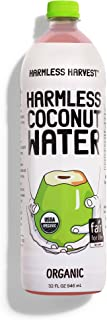 Harmless Harvest Organic Coconut Water, Original, 32 Ounce (pack Of 6)