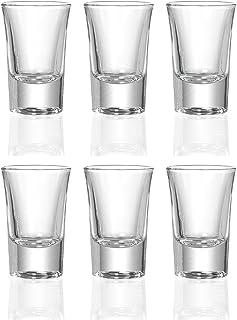 Ritzenhoff & Breker 4All Stamper-Set, Schnapsglas, 6-tlg., Transparent, Glas, 40ml
