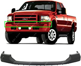 MBI AUTO - Primered, Front Upper Bumper Top Pad for 2005-2007 Ford F250 F350 Super Duty 05-07, FO1057292