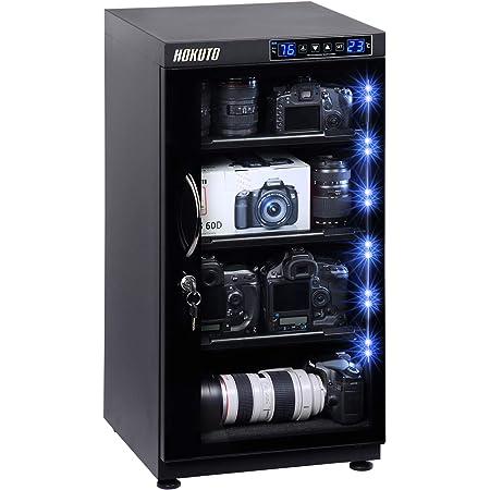HOKUTO 防湿庫・ドライボックス HBシリーズタッチスクリーン搭載容量100L (102Lタッチスクリーン/LED)