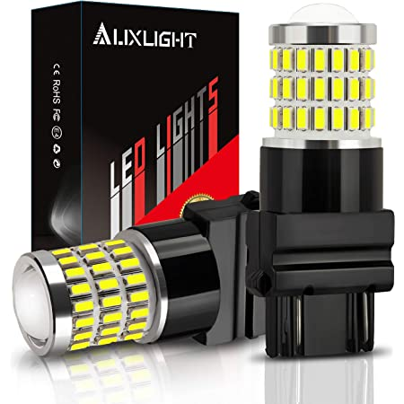Turn Signal//Parking or Running Lights AUXLIGHT 3157 3156 3057 4157 3157K LED Bulbs Xenon White Pack of 2 Ultra Bright 57-SMD LED Replacement for Back Up//Reverse Lights Brake//Tail Lights