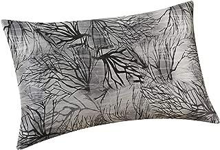 ALASKA BEAR - Natural Silk Pillowcase, Hypoallergenic, 100 Percent Mulberry Silk, Standard Size with Hidden Zipper, Custom Printing Pillow Case for Home Décor(1, Ink)