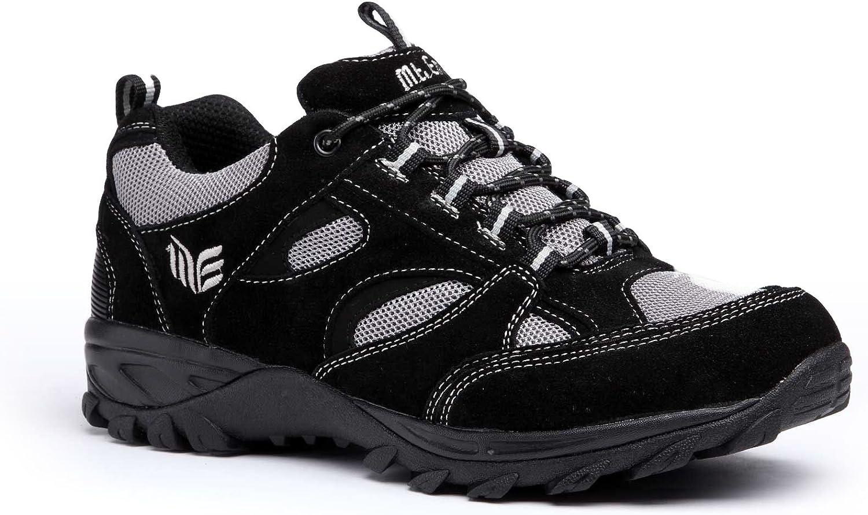 Mt. Emey 9708 Men's Extrem-Light Athletic Walking Shoes - Black