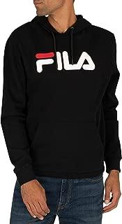 Fila Men's Axel Pullover Hoodie, Black