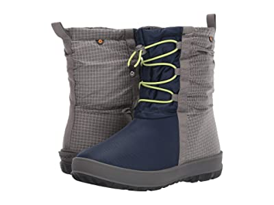 Bogs Kids Snownights (Toddler/Little Kid/Big Kid) (Navy Multi) Girls Shoes
