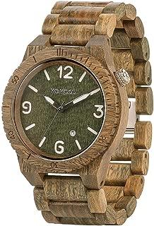 WeWOOD ALPHA ARMY Mens Alpha Army Wood Watch