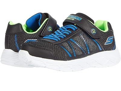 SKECHERS KIDS Sport Lighted Gore Strap Sneaker 401530L (Little Kid/Big Kid) Boy