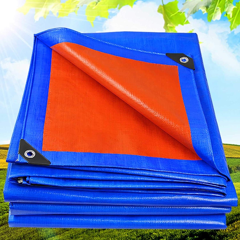 GCZ Tarp Cover Blue Orange Soldering Japan Maker New Duty Thick Heavy Material Waterproof