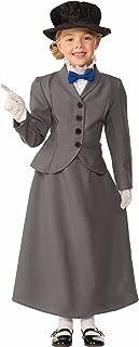 (Small, Gray) - Forum Novelties Kids English Nanny Costume, Grey, Small