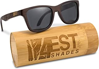 Bamboo Wood Sunglasses - One of a kind Polarized handmade frames from 4ESTShades