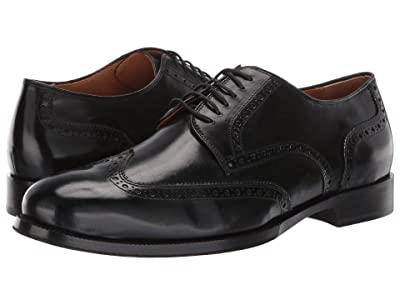 Cole Haan Gramercy Derby Wing Tip Oxford (Black) Men