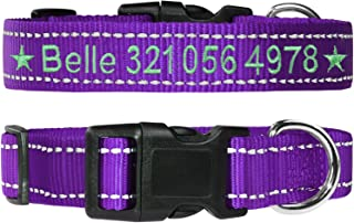 FunTags Personalized Reflective Embroidered Collars