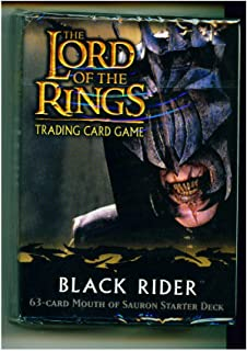 Lord of the Rings Card Game Theme Starter Deck Black Rider Mouth of Sauron