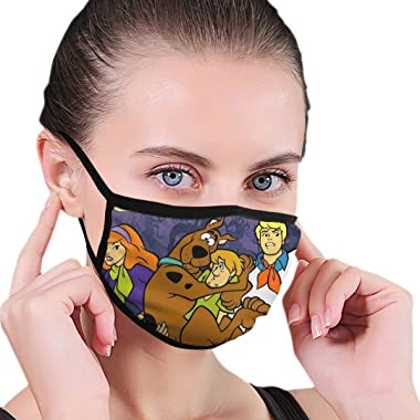 770 Scooby Doo Fashion Reusable Washable Face Cover Facial Dust Mouth Windproof Dustproof s Washable for Unisex