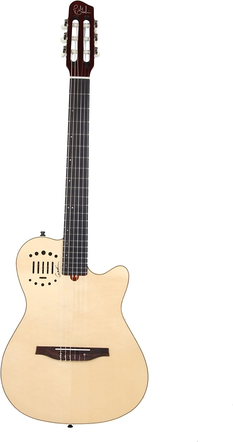 Godin Multiac New sales Nylon Duet Ambiance Classical Electric Acoustic Gu Today's only