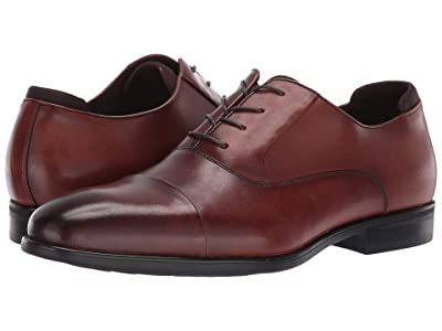 Kenneth Cole Reaction Edge Flex Lace-Up B (Cognac) Men