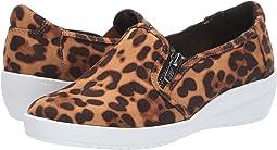 Leopard Microsuede