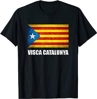Catalonia Catalunya Catalan Flag Independence T-Shirt