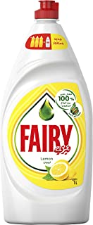 Fairy Lemon Liquid Dishwashing Soap, 1 Liter