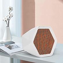 Nlight Calefactores 600W Calentador Calefactor Portatil Mini Heater Cerámico Oscilación Automática Y Función Silenco,Termoventilador, Blanco