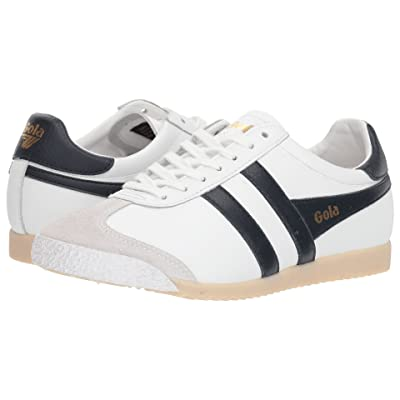 Gola Harrier 50 Leather (White/Navy) Women