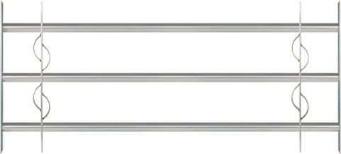 GAH-Alberts 563639 raamhekwerk Secorino Style   uittrekbaar voor ramen buiten   inbraakbeveiligingsrooster   elektrolytisc...