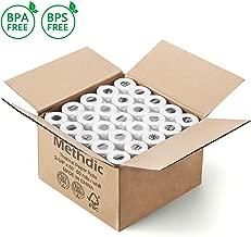 Methdic 2 1 4 x 50 BPA BPS Free Credit Card Calculator Thermal Paper Rolls 50 Pack