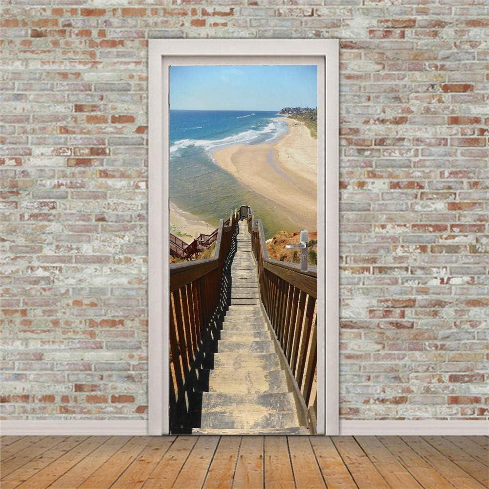 Popular brand DIY Door Wall Stickers Murals Directly managed store Post Wallpaper 34.6