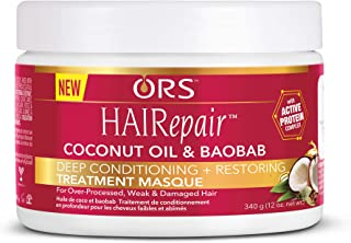 ORS HAIRepair Deep Conditioning and Restoring Treatment Masque 12 oz (Pack of 4)